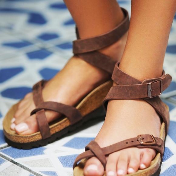 32e3b59f87f Birkenstock Shoes - Yara Birkenstock Chocolate Habana Size 38 or US 8